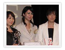 Tomomi Nishimura, Chigusa Takahashi, Eri Takahashi (Japan)